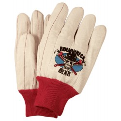 18 oz Heavy Duty Cotton and Poly Canvas Gloves