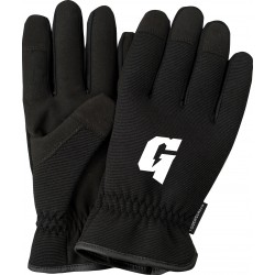 All Black Touchscreen Gloves-Slip-on
