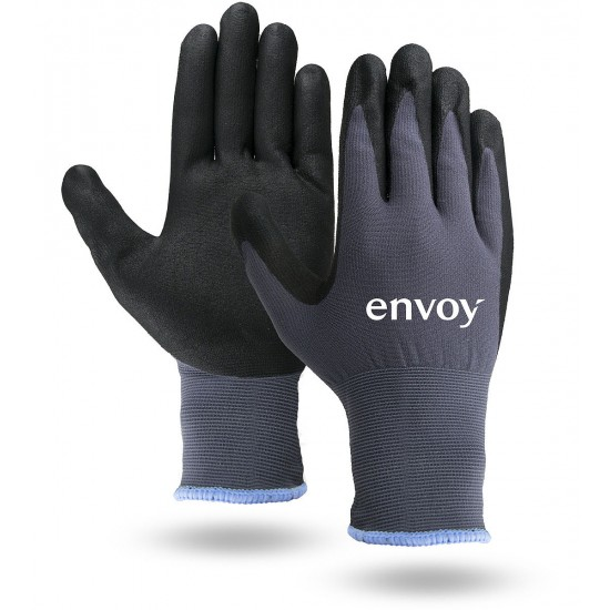 Antimicrobial Dipped Touchscreen Gloves