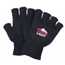 Black Fingerless Work Gloves