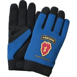 Blue Spandex Mechanics Gloves
