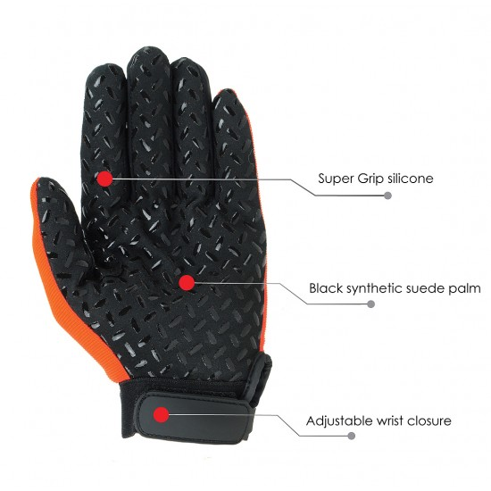 Extra Grip Mechanics Gloves with High Visibility