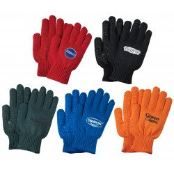 Freezer Glove with PVC Grip Dots - Assorted Glove Colors