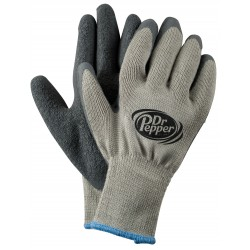 Gray Knit Winter Work Gloves