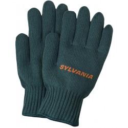 Green Knit Medium Weight Gloves