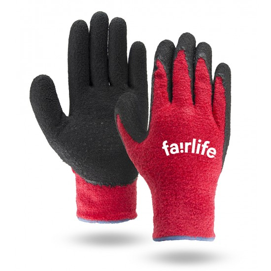 Palm Dipped Terry Cloth Gloves