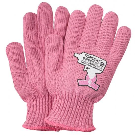 Pink Knit Medium Weight Gloves