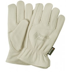Premium Grain Buffalo Leather Gloves with Winter Lining