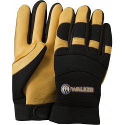 Premium Leather and Spandex Work Gloves