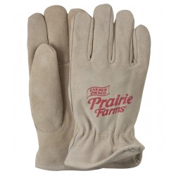 Premium Suede Leather Gloves - Lined