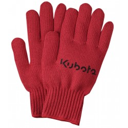Red Knit Medium Weight Gloves