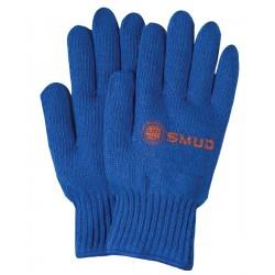 Royal Blue Knit Medium Weight Gloves