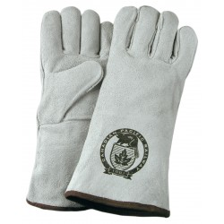 Suede Cowhide Leather Welder and Fireplace Gloves
