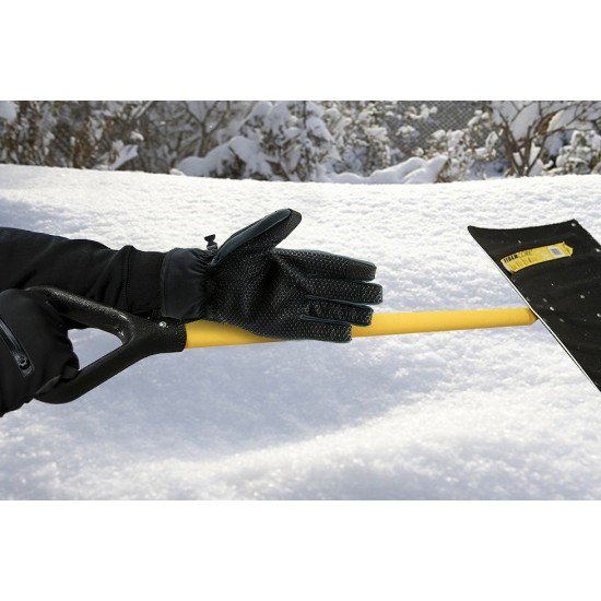 Touchscreen Enabled Skiing  Gloves with Zipper Pockets