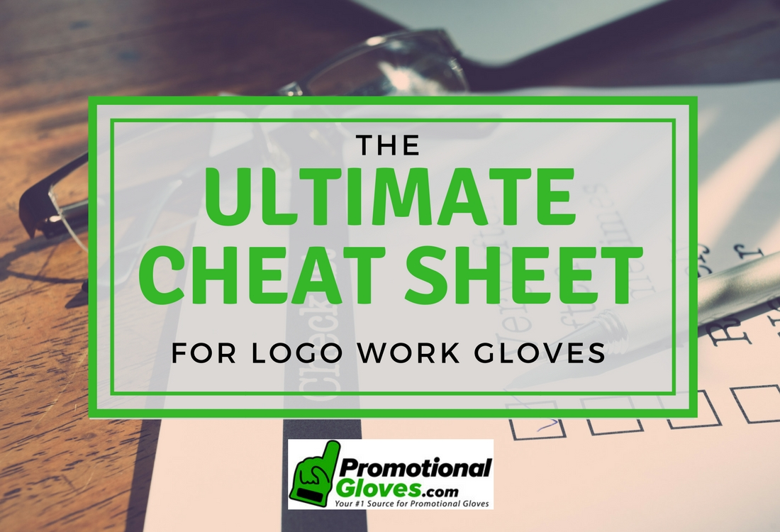 The Ultimate Cheat Sheet on Logo Work Gloves
